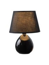 Orbit Anna Black Table Lamp