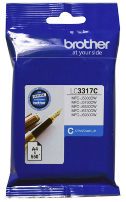 Brother Lc3317C Ink Cartridge Cyan
