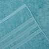 L&M 100% Cotton Low Twist Aquamarine Bath Mat