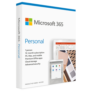 Microsoft 365 Personal 1 User 1 Year