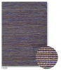 Strata Purple Jute/Artsilk/Poly Rug 0.8X2.0M